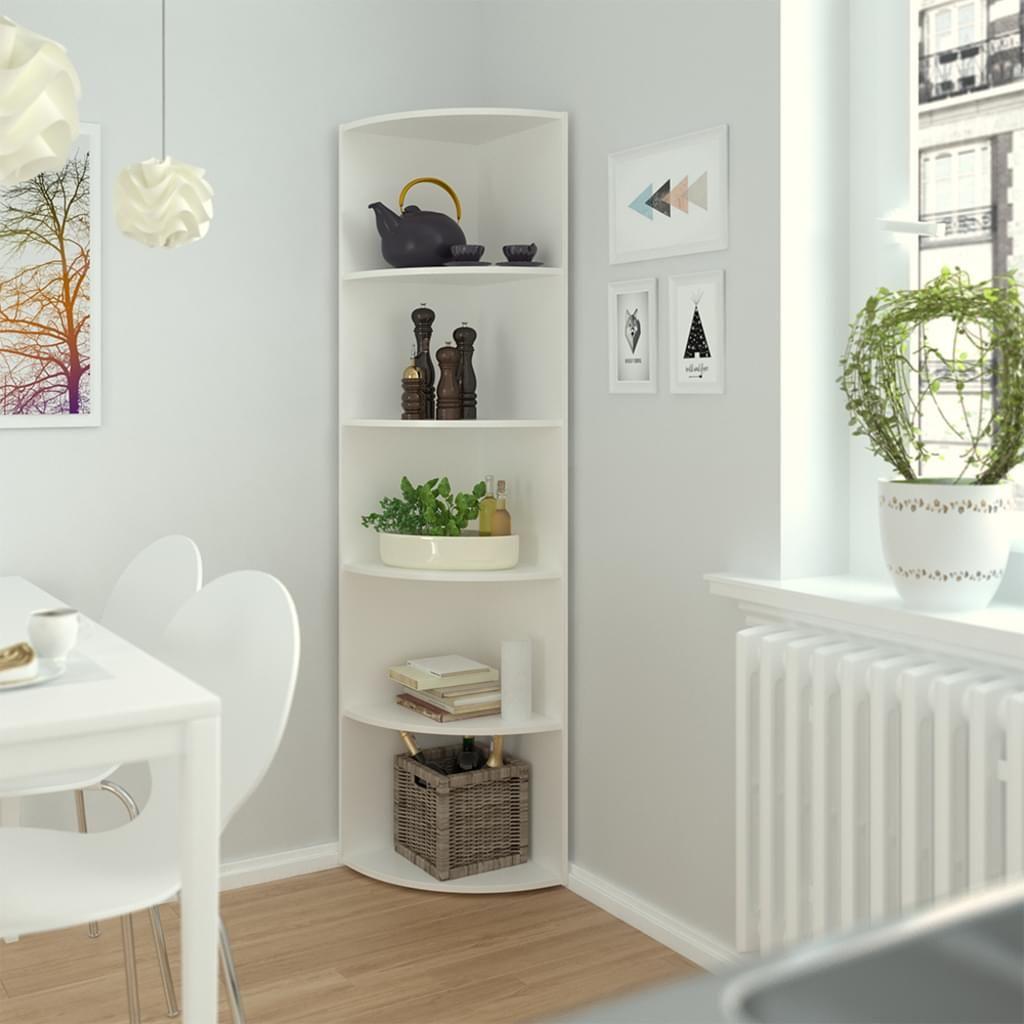 Vicco Eckregal Weiss Regal Kuchenregal Badezimmer Real In 2020 Eckregal Regal Eckregal Design