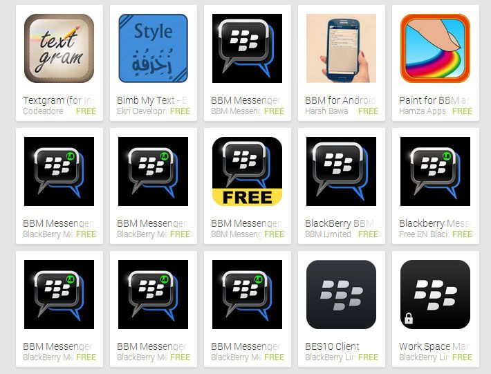 Fake BBM for Android Apps Flooding Play Store - http://gizmolord.com/fake-bbm-android-apps-flooding-play-store/ #BbmForAndroid, #BbmForAndroidLeaked, #BlackberryMessenger, #FakeBbmForAndroid
