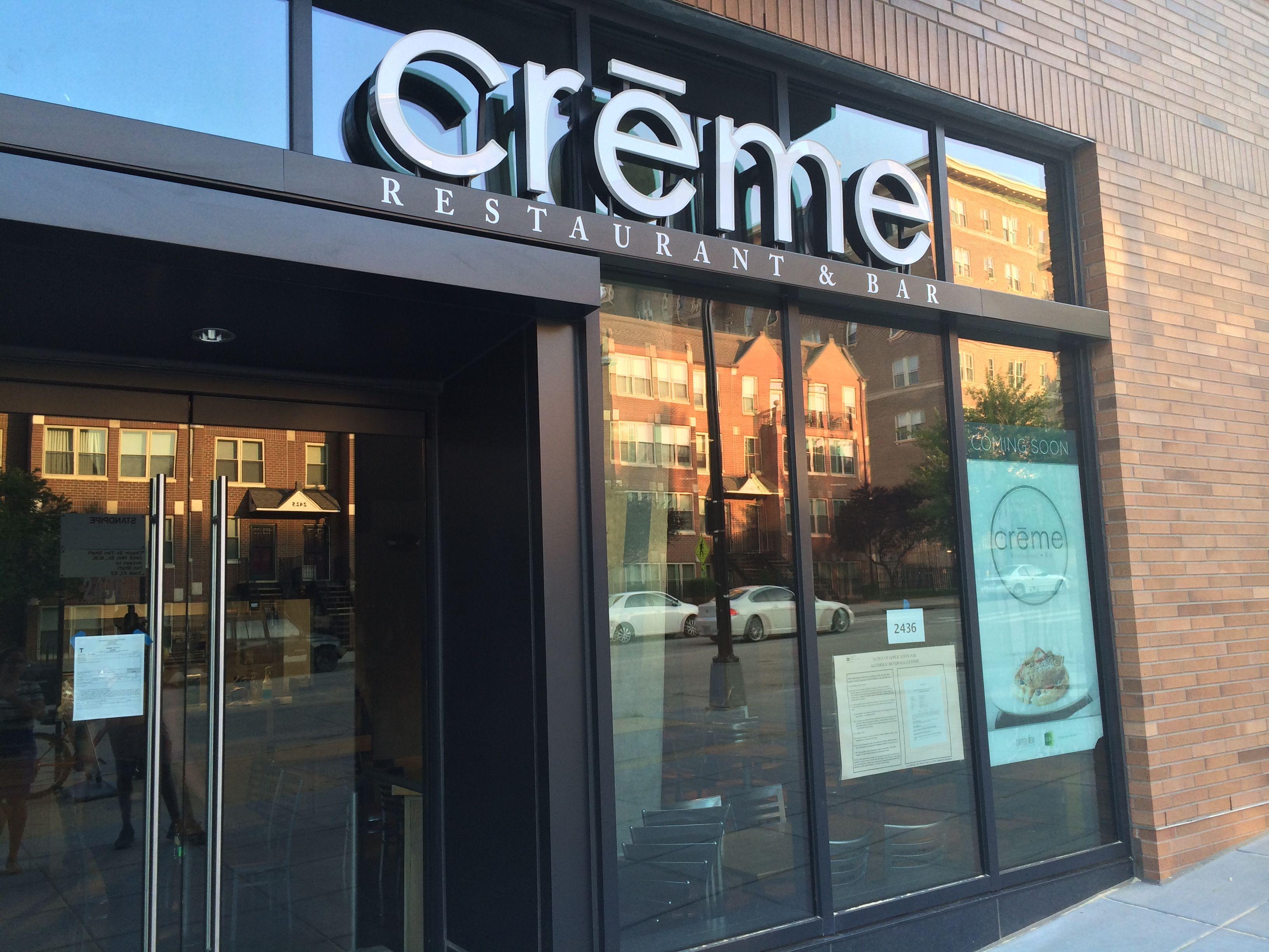 Washington dc Creme Restaurant u0026 Bar