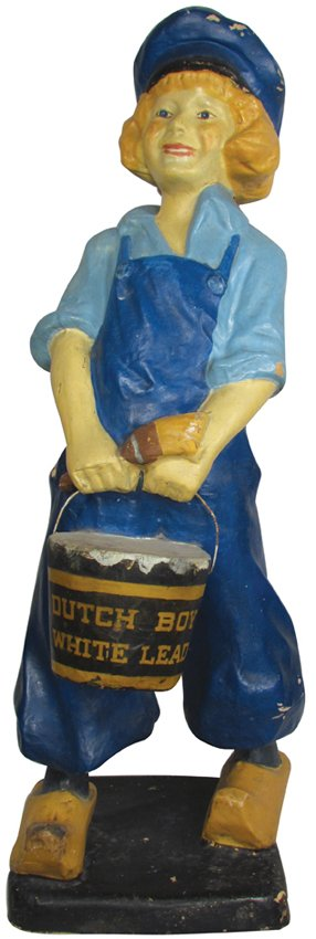 Dutch Boy Paint Paper Mache Store Display : Lot 1817