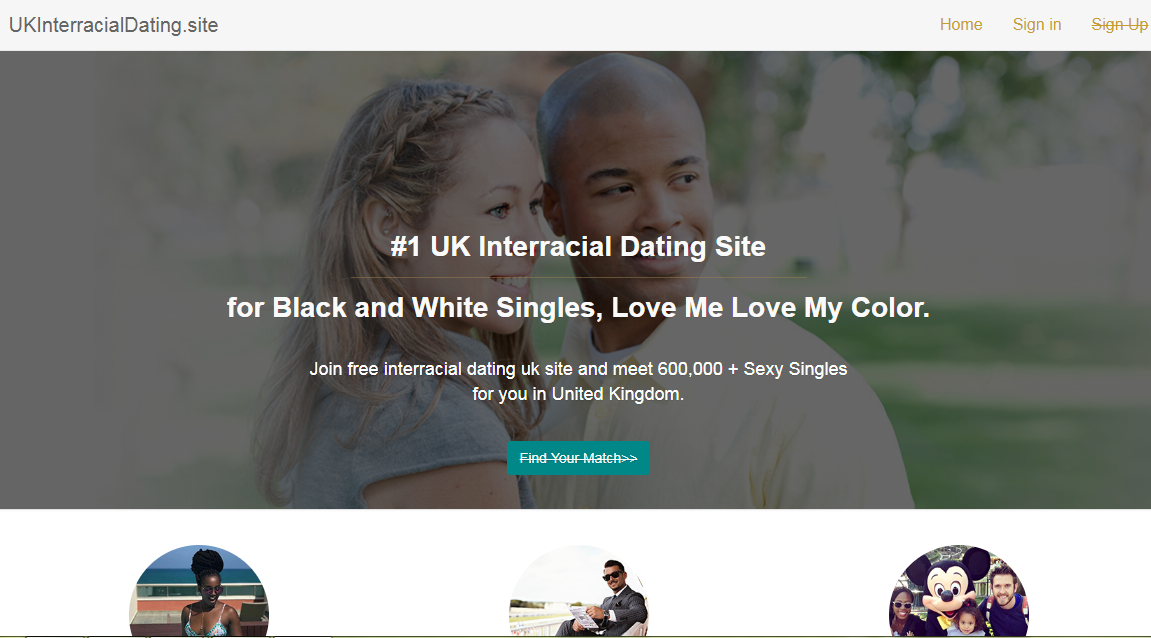 Dating interracial matchmaking site