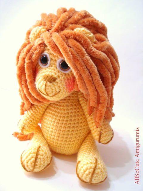 Pattern Lion Pattern Crochet Tutorial Amigurumi Lion Pattern