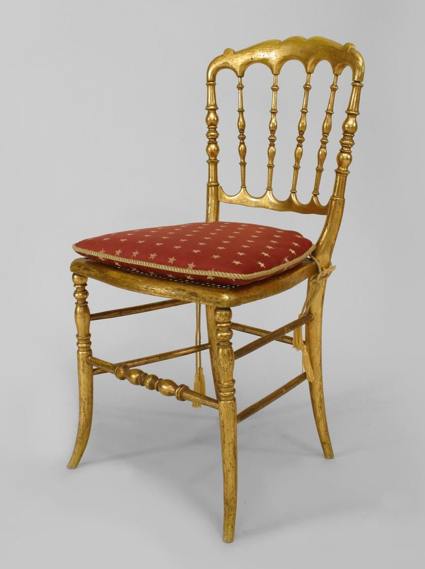 French Victorian Seating Chair/side Chair Gilt