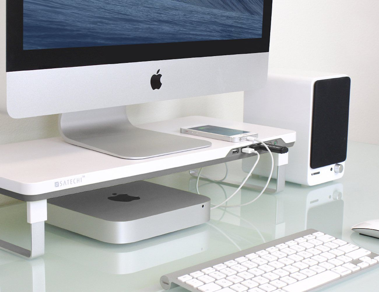 Satechi F3 Smart Monitor Stand Monitor Stand Computer Stand