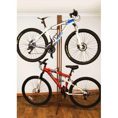 4 Bike Oakrak Freestanding Storage Rack | $143