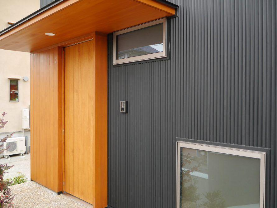 長持ちする外装材の選び方 近代的な外観 住宅 外観 ガルバ