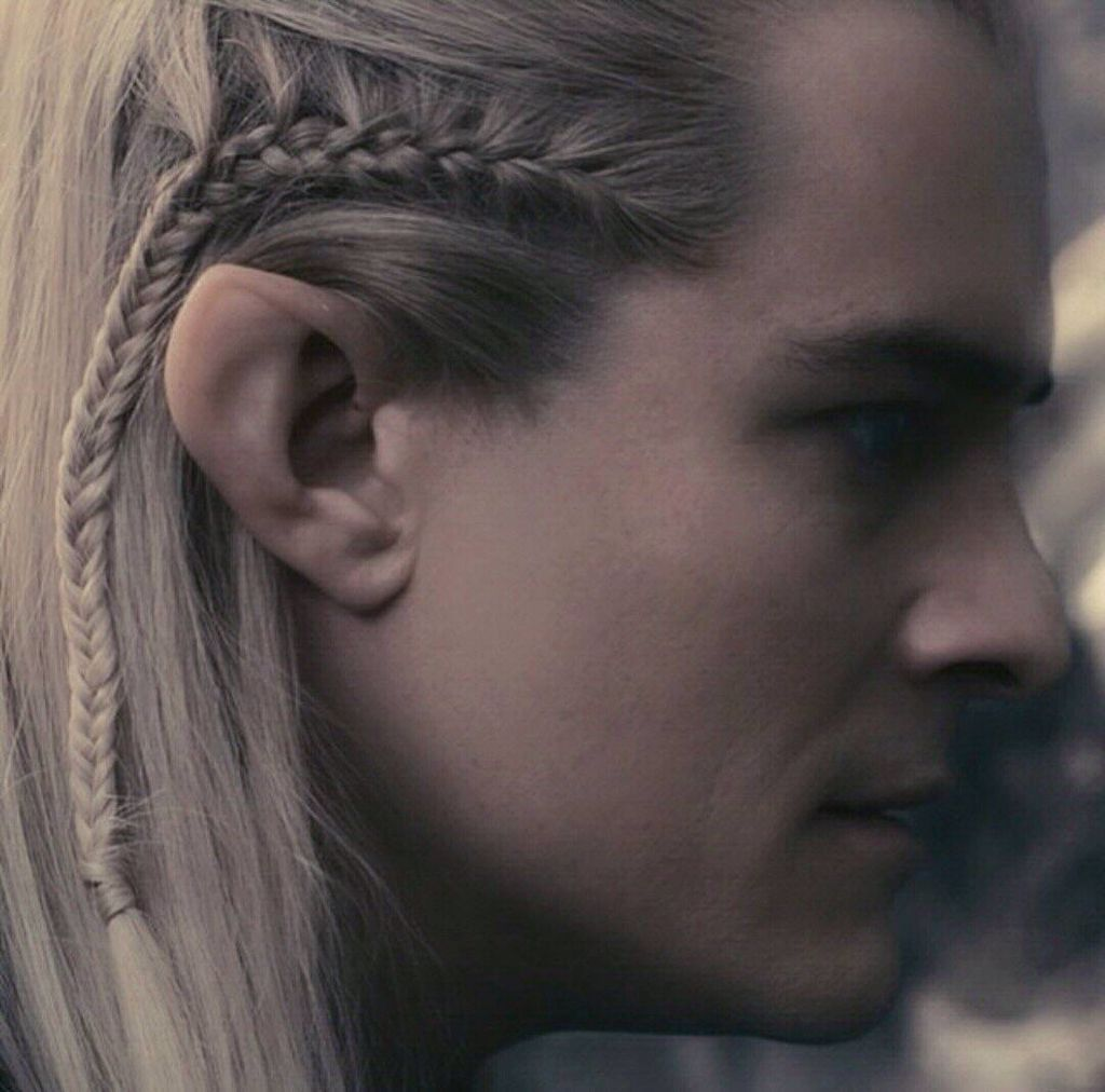 Legolas Braid Lord Of The Rings Legolas Costume Legolas