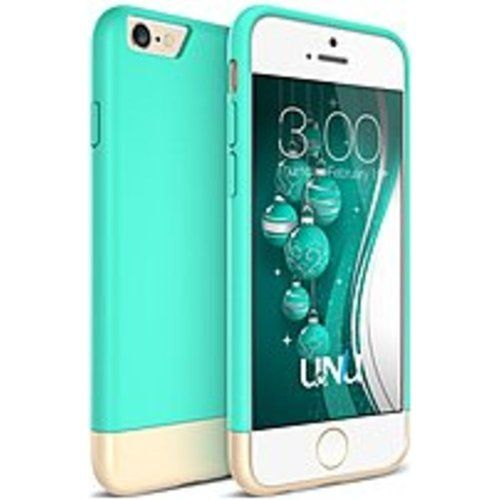 UNU Ellena Series FN-6P-TG Case for iPhone 6 Plus - Turquoise Blue, Champagne Gold