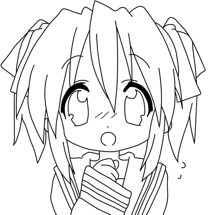 anime coloring page Google Search coloring pages Pinterest