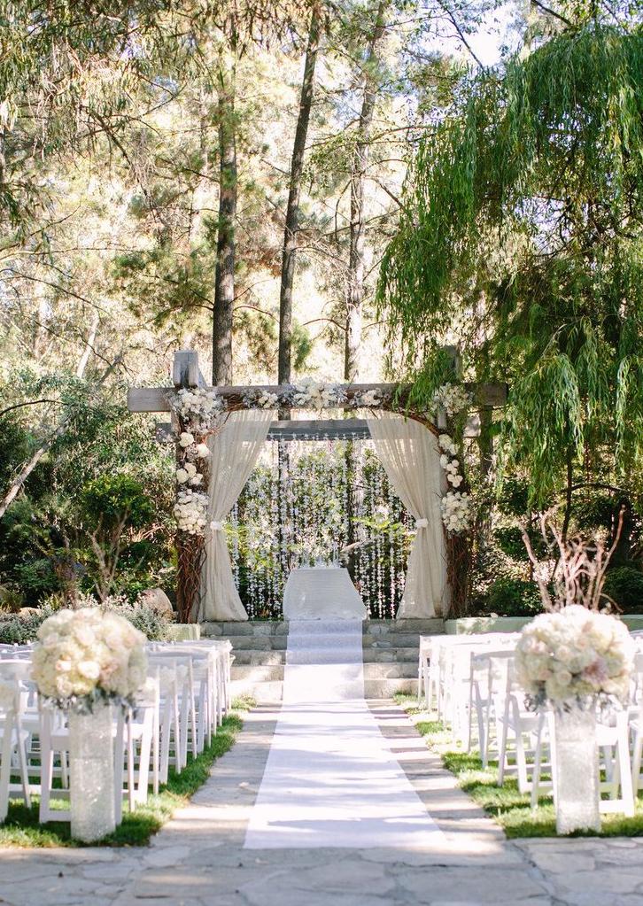 Outdoor Catholic Wedding