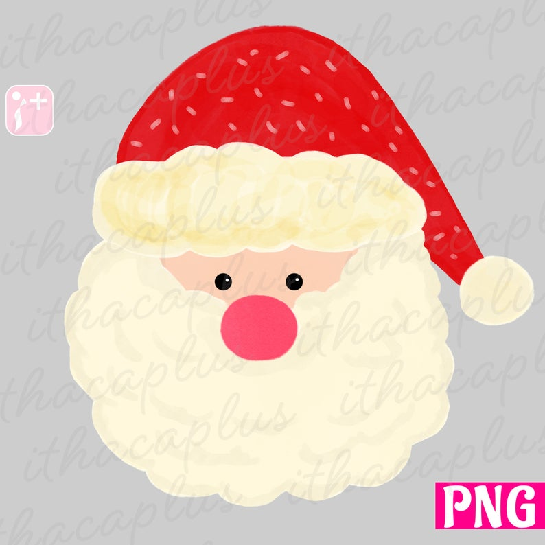 45+ Santa face clipart download information