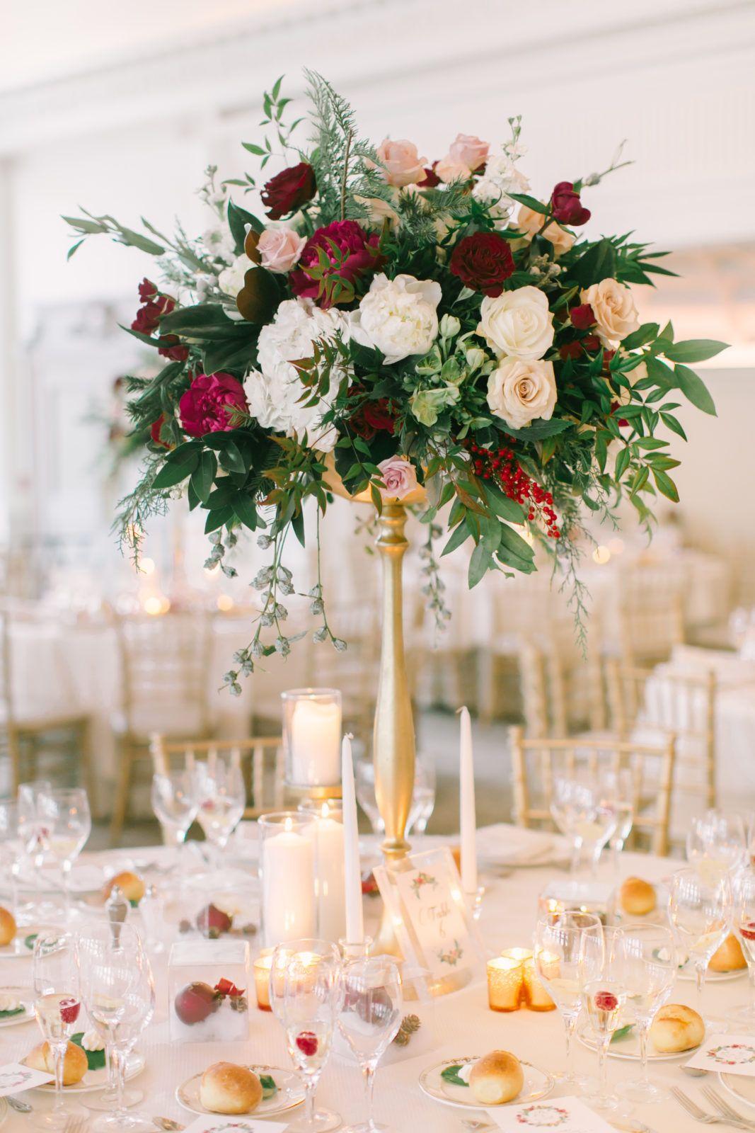A Park Chateau Winter Wedding with Rose + Stelios Jessa
