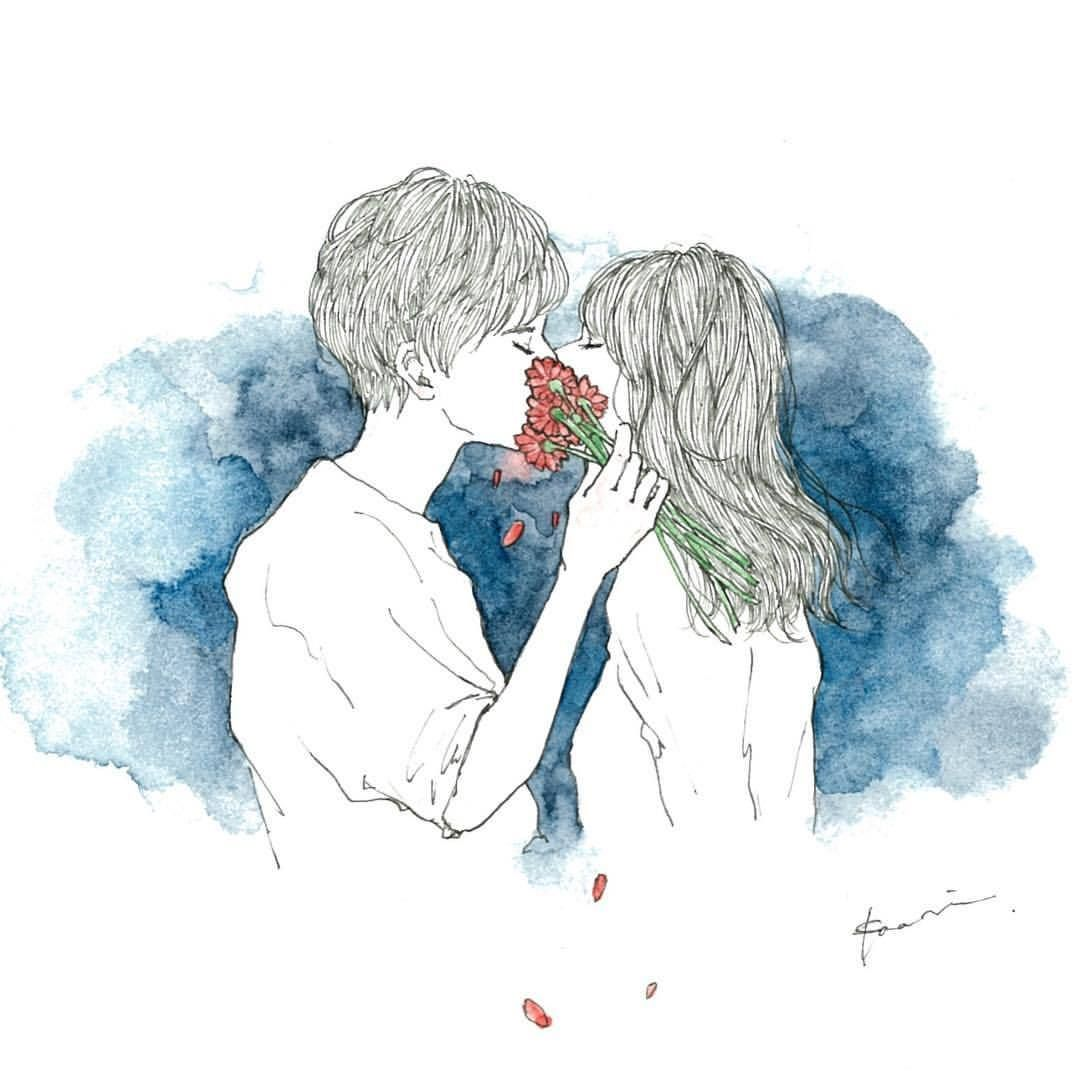 水彩画 女の子 おしゃれまとめの人気アイデア Pinterest Iwariko Kiyomi 恋人 イラスト かわいい絵 かわいいスケッチ