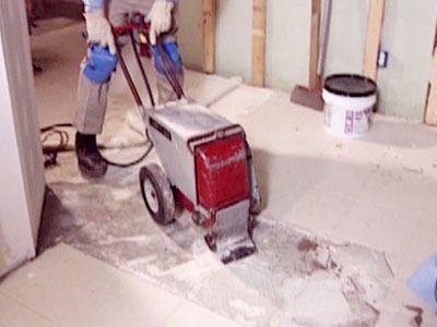 How To Remove A Tile Floor Flooring Ideas Pinterest Diy