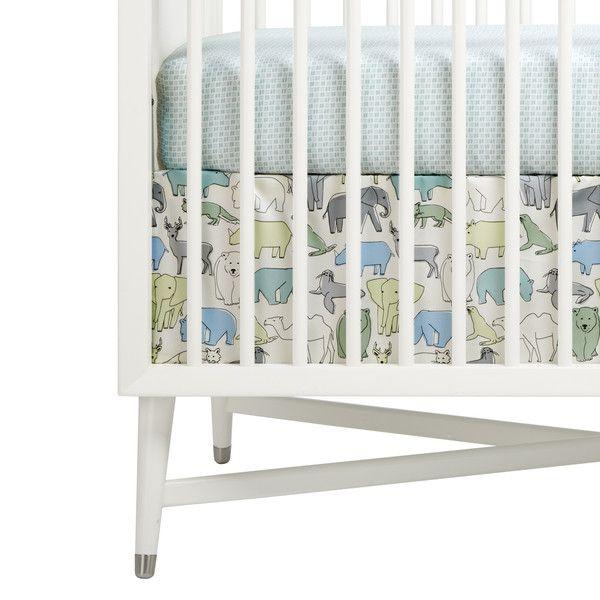 Traditional Nursery Themes Look Fresh With Dwell Studio Cribs Crib Accessories Crib Skirts