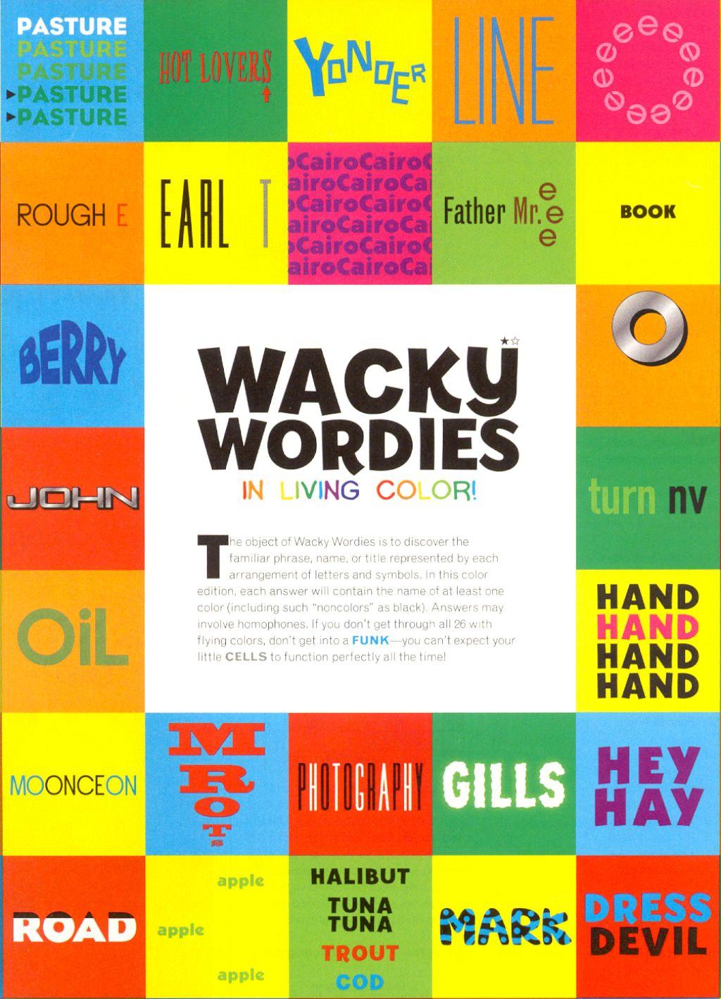 Wackie Wordies 35 in 2020 Brain teasers for adults