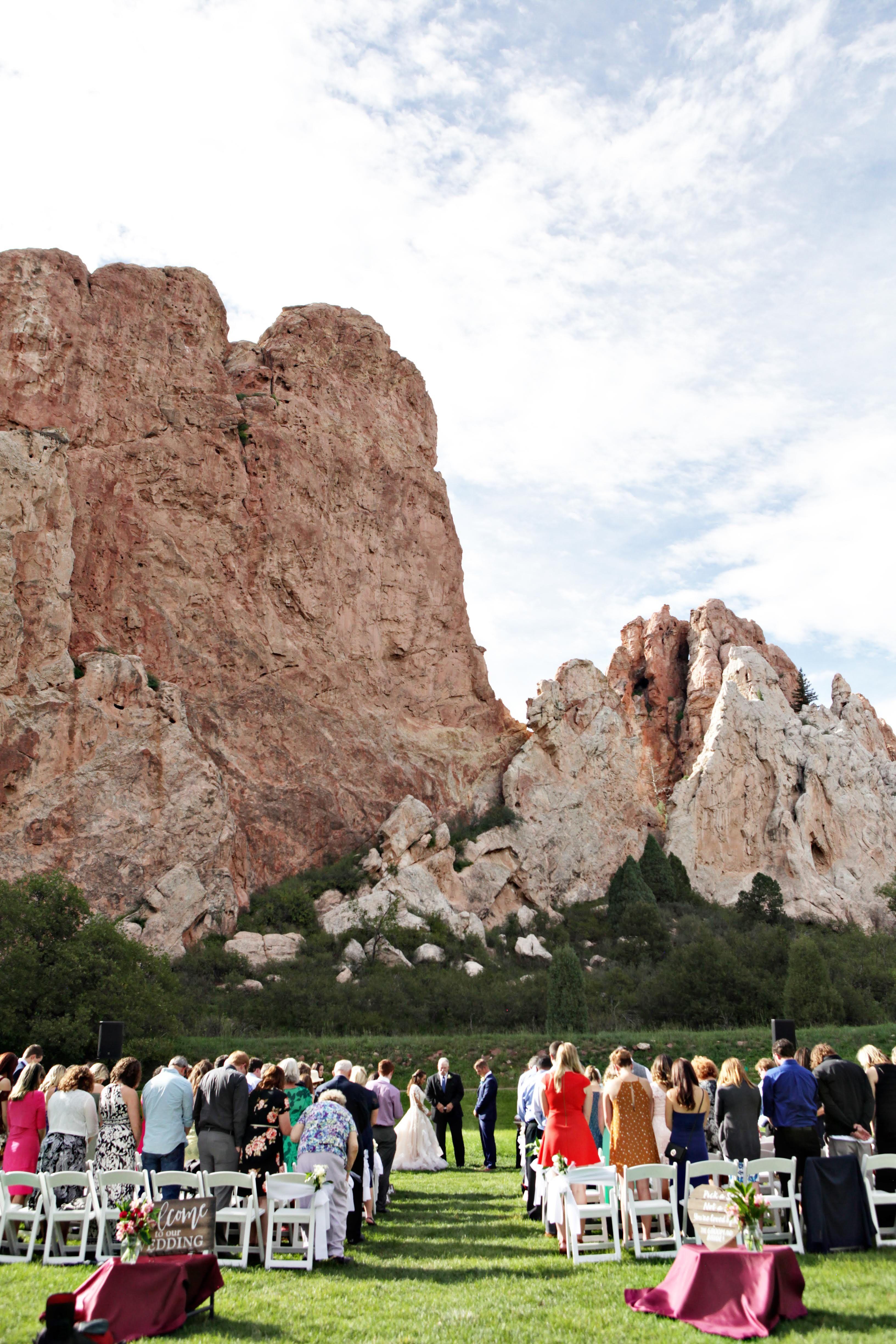 Outdoor Wedding Venue Destination Colorado Springs ...