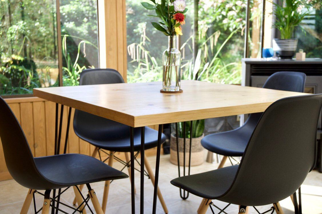 Modern Dining Table -Hand made in Seattle, WA by ...