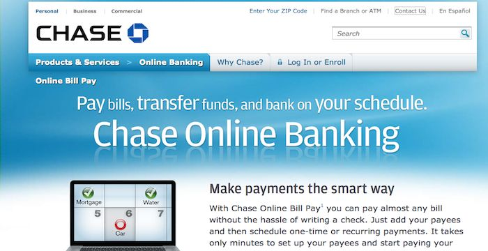 Chase Bill Pay   Pay Your Bills