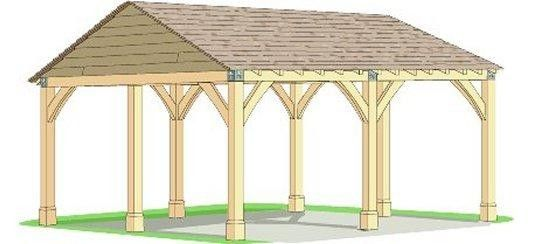 Wood rv carport plans woodworking wooden gable carport Motorhome carport plans