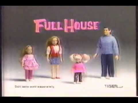Vintage early 90 39 s full house dolls commercial every lil for Early 90s house