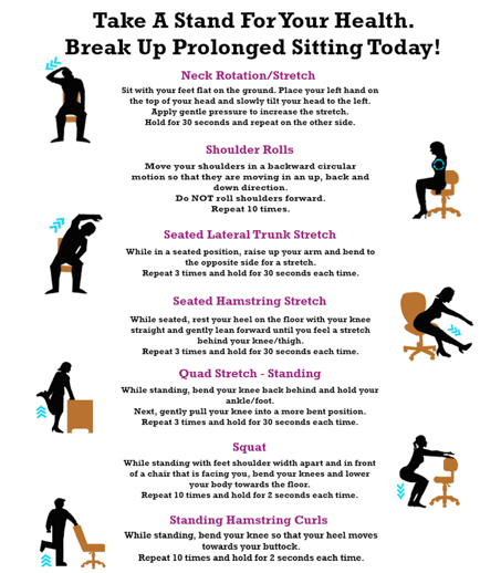Simple Desk Exercises You Can Do In The Office