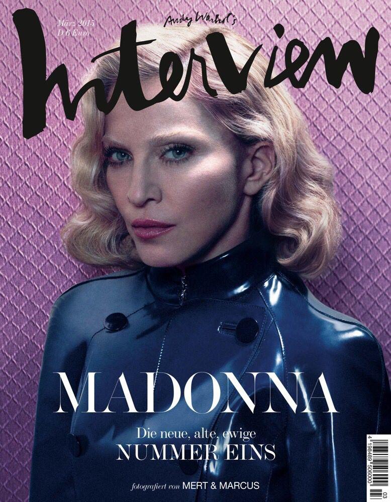 Madonna interview magazine