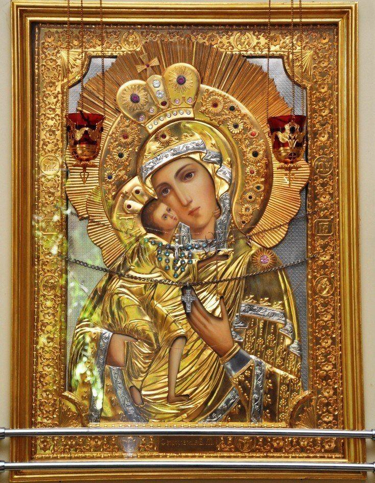 Икона феодоровской божьей матери картинка