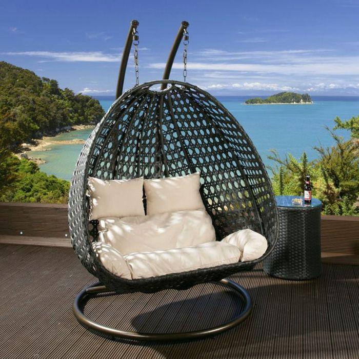 h ngesessel mit gestell einige exklusive modelle id es de jardin bodenbelag. Black Bedroom Furniture Sets. Home Design Ideas