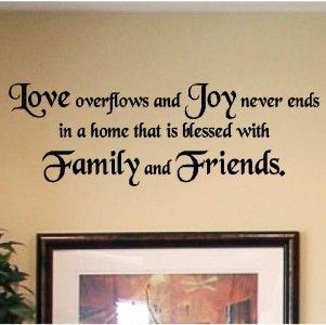 Decals Vinyl Wall Lettering Home Decor Quotes Sayings Ebay