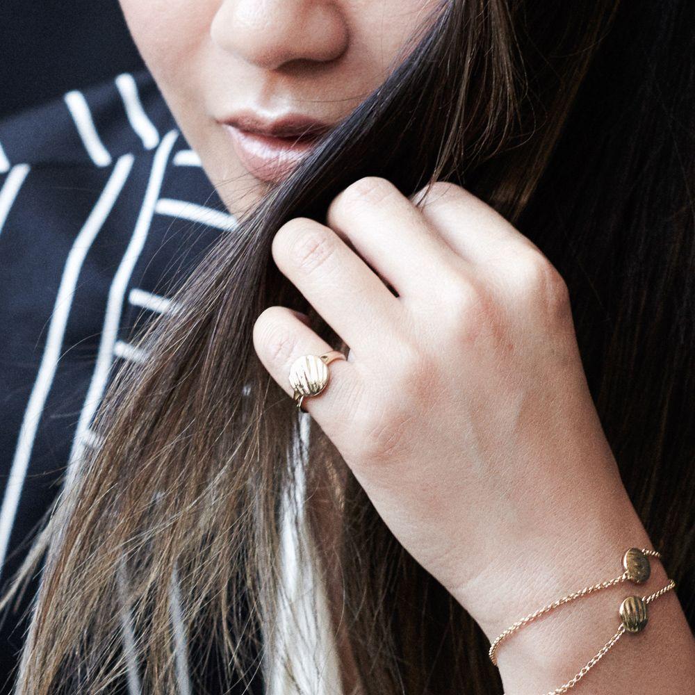 Tuxedo Pinky Ring by Wendy Nguyen