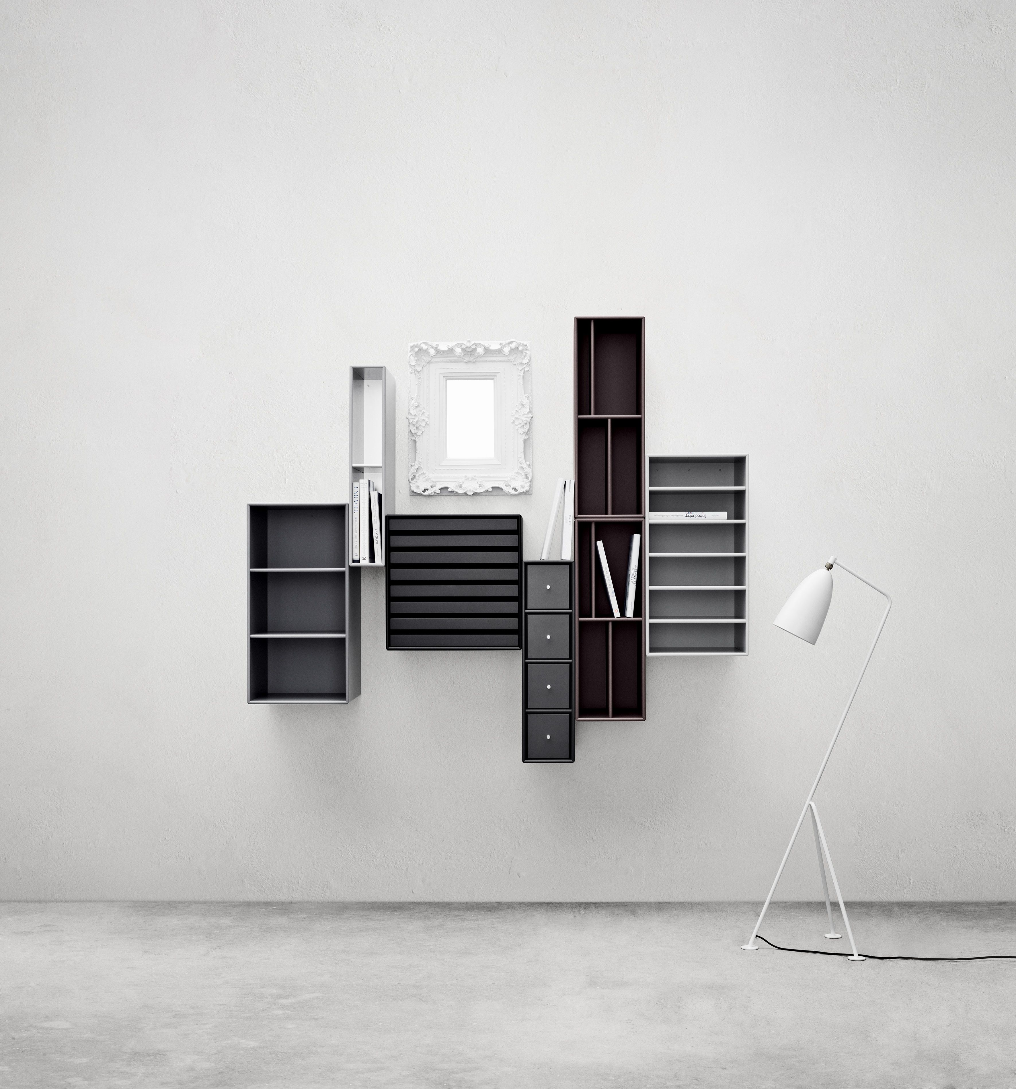 Great Organising Does Not Have To Be Boring. #montana #furniture #danish #black Amazing Design