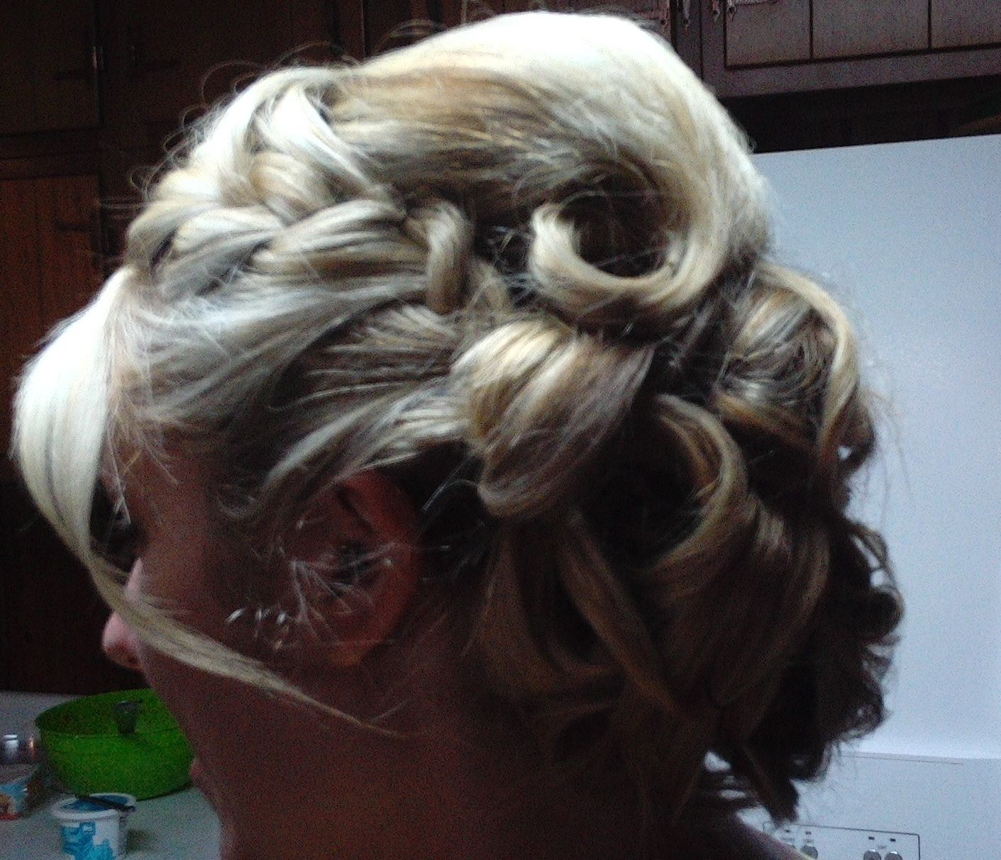 Bridesmaid  Homecoming Hair by Rochelle Noone On location stylist Pittsburgh Pa