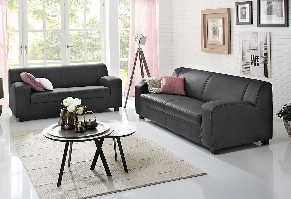 Wohnzimmer klassisch ~ Home affaire sitzer sitzer im set fun« klassische polster