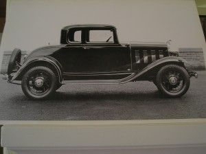 1932 Chevy 5 Window Coupe - This looks like my 1st car that
