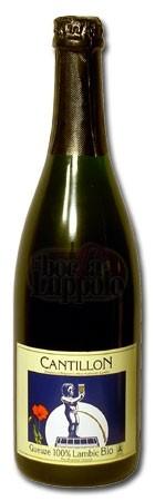 Cerveja Cantillon Gueuze 100% Lambic Bio, estilo Lambic - Gueuze, produzida por Cantillon, Bélgica. 5% ABV de álcool.