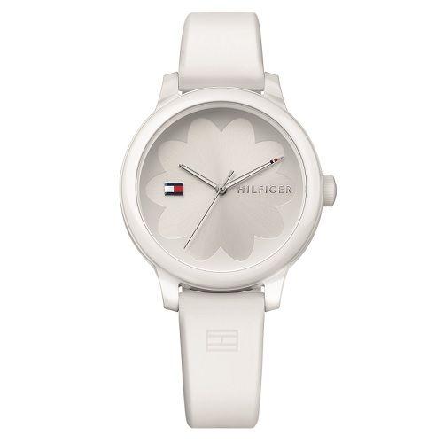27a67e02a16 Relógio Tommy Hilfiger Feminino Borracha Azul - 1781774