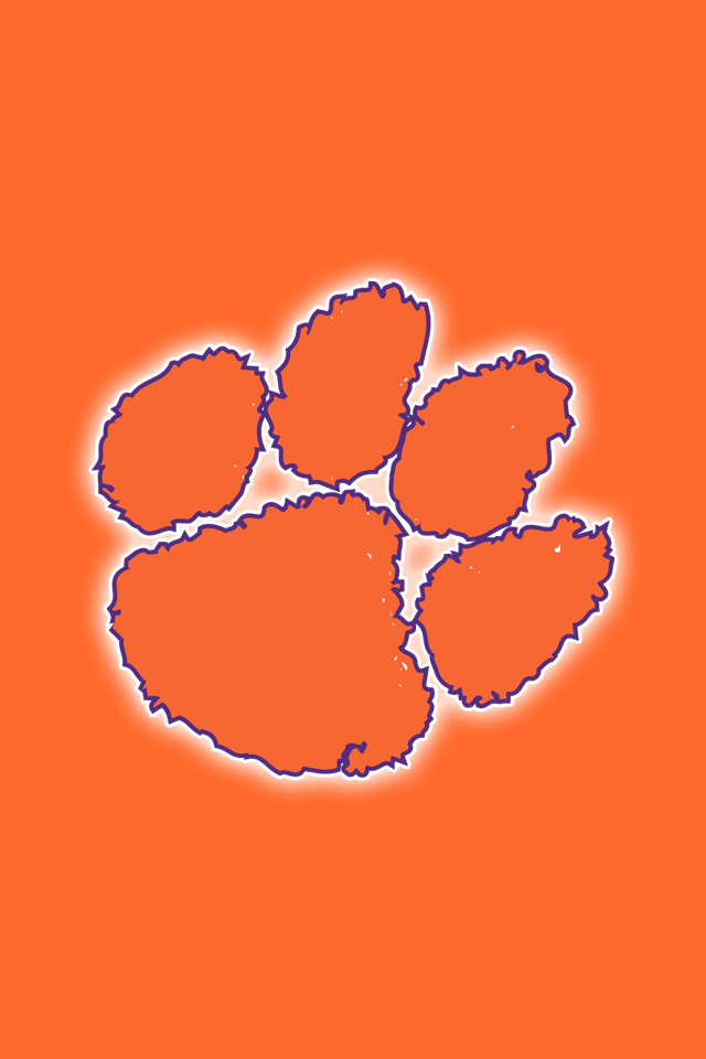 Pin By Tracy Palmer On Iphone Pinterest Clemson Tiger Paw