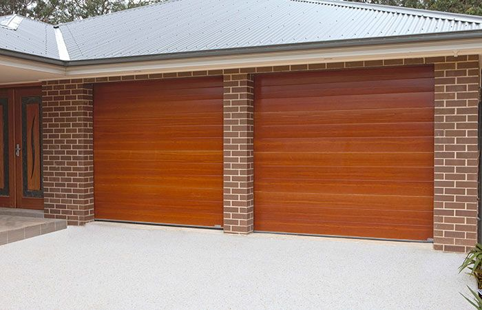 Gliderol Garage Doors >> Gliderol Native Series Premium Timber Look Colours Timber
