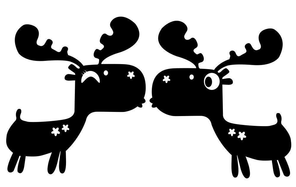 28 Gambar Kartun Rusa Lucu Blingird 30 Cm 17 Cm Natal 2 Rusa Lucu Kartun Hewan Decal Download Reindeer Icons Cute Cartoon Charac Rusa Gambar Kartun Kartun