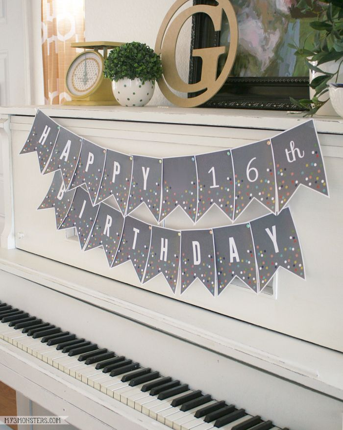 Printable Confetti Banner Letters  Feelings We And The OJays