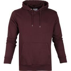 Coorfu Standard Organic Hoodie Burgunder Colorful Standard #beautyessentials