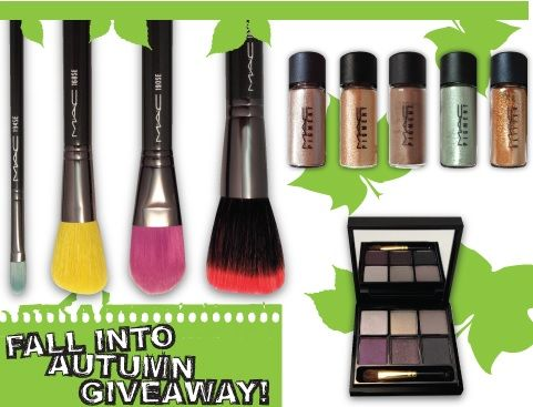 M.A.C Fall Into Autumn Giveaway WIN a M.A.C Bag FULL of your favorite M.A.C Products Ends 10/13