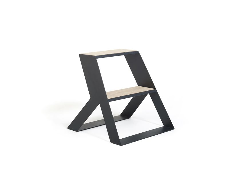 Enjoyable Split Step A Great Looking Modern Step Stool In 2019 Caraccident5 Cool Chair Designs And Ideas Caraccident5Info