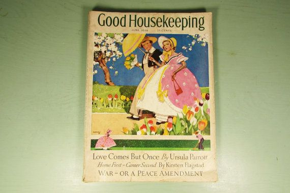 Good Housekeeping 1936 Magazine - Vintage Advertising Gaffron ...