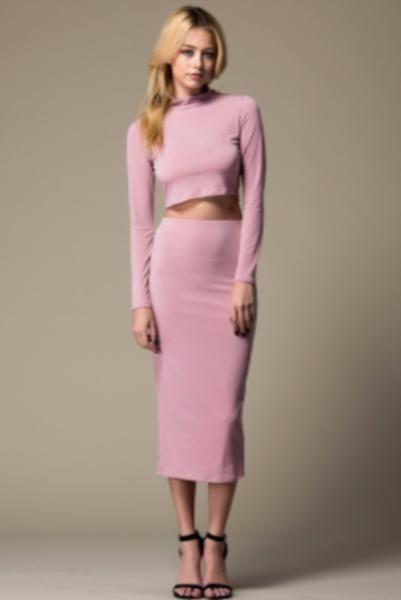 Blush Me Skirt Set.                         – Classy N Fabulous