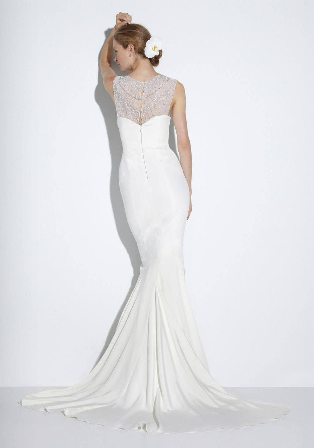 Nicole Miller Bridal Fall 2014 Caperesortswedding