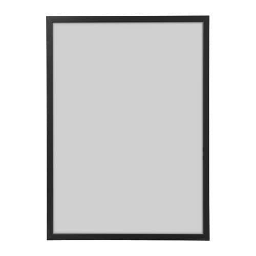 FISKBO Frame black 50x70 cm Ikea, Frame, Picture frames