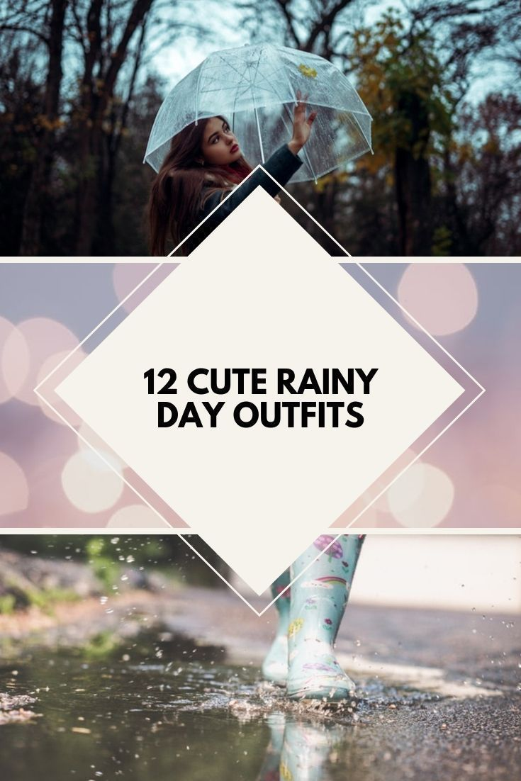 "12 Cute Rainy Day Outfits You Will Love by Fit+inch"" #rainydayoutfitforwork rainy day outfit comfy, comfy rainy day outfit hot rainy day outfit, rainy boots professional rainy day outfit, rainy day college outfit rainy day outfit boho, cute rainy day outfit rainy day outfit college, spring rainy day outfit work rain work outfit rainy days,  preppy rainy day outfit spring, rain outfit rainy day date outfit, cold rainy day outfit winter cute rainy day outfit spring, rain boots outfit #rainydayou #rainydayoutfit"
