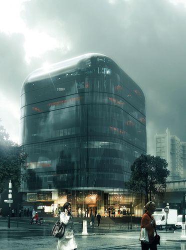 ARTEFACTORY D VIZ Pinterest Rendering Architecture - Hotel porte de vanves